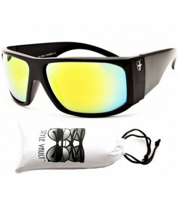 X426 VP Style Vault Sunglasses Black Gold