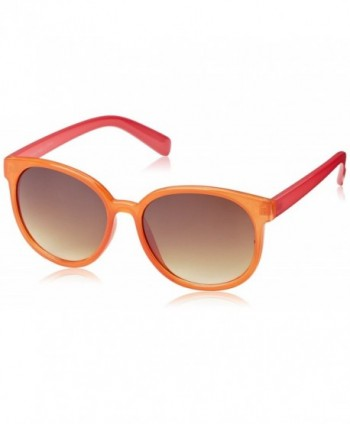 Eyewear Candy Color Round Sunglasses