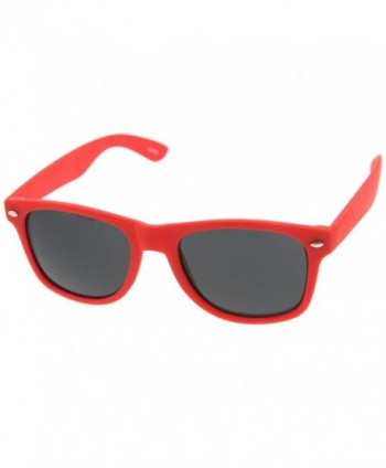 zeroUV Rubber Finish Rimmed Sunglasses