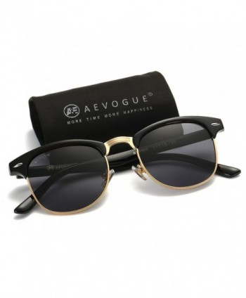 AEVOGUE Polarized Sunglasses Semi Rimless Designer