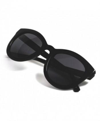 Vintage Oversized Glossy Polarized Sunglasses