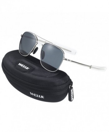 Retro Polarized Sunglasses Aviator Glasses