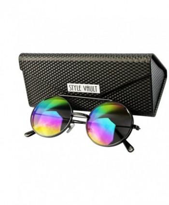 V3051 FC Style Vault Sunglasses Black rainbow