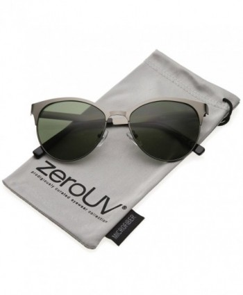 zeroUV Womens Finish Sunglasses Gunmetal