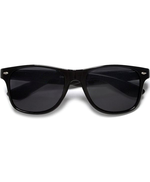 Super Classic Black Wayfarer Sunglasses
