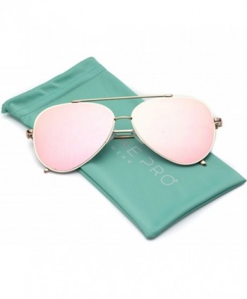 WearMe Pro Mirrored Aviator Sunglasses