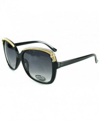 Cheetah Oversized Fashion Sunglasses Embellishment
