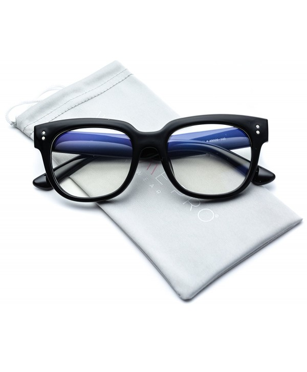 0f271bca95 Elegant Thick Rectangular Frame Clear Lens Glasses - Black Frame ...