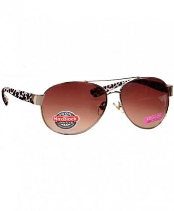 Foster Grant Fashion Aviator Sunglasses