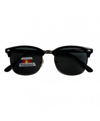 Basik Eyewear Clubmaster Anti Glare Sunglasses