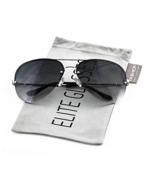 Elite Gradient Oceanic Oversized Sunglasses
