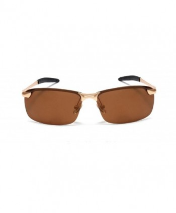 GAMT Classic Semi rimless Polarized Sunglasses